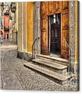 Old Stone Alley Acrylic Print