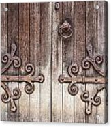 Old Wooden Door Acrylic Print