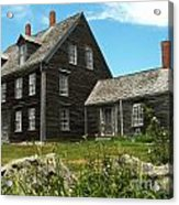 Olson House Acrylic Print by Theresa Willingham