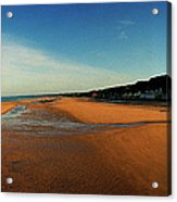 Omaha Beach At Dog One Acrylic Print
