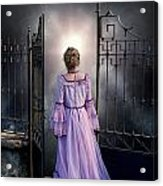 Open Gate Acrylic Print