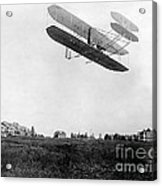 Orville Wright In Wright Flyer, 1908 Acrylic Print