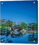 Osaka Garden Pond Acrylic Print
