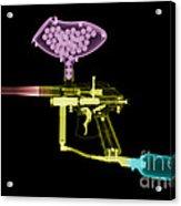 Paintball Gun Acrylic Print