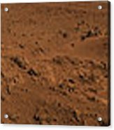 Panoramic View Of Mars Acrylic Print