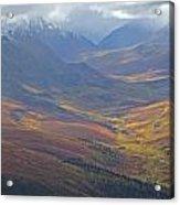 Panoramic View Of The North Klondike Acrylic Print