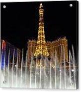 Paris And Ballys Acrylic Print