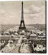 Paris: Eiffel Tower, 1900 Acrylic Print