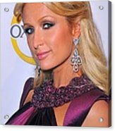 Paris Hilton At A Public Appearance Acrylic Print by Everett