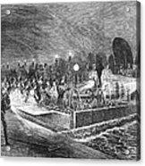Paris: Sewers, 1869 Acrylic Print