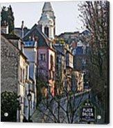 Parisian Street Scene Acrylic Print
