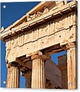 Parthenon Acrylic Print