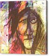 Pastel Man 12 Acrylic Print