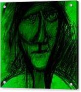 Pastel Man  9 Acrylic Print