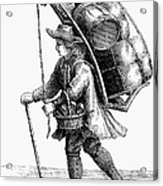 Peddler, 18th Century Acrylic Print