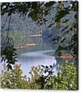 Peekaboo Lake Acrylic Print