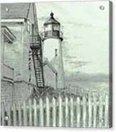 Pemaquid Lighthouse  Acrylic Print