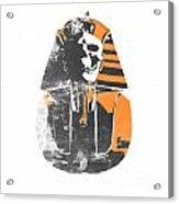 Pharaoh Stencil  Acrylic Print