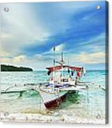 Philippine Boat Acrylic Print