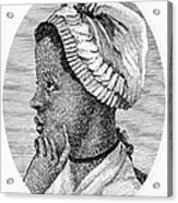 Phillis Wheatley 1753-1784, The First Acrylic Print by Everett