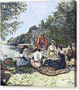 Picnic, 1885 Acrylic Print