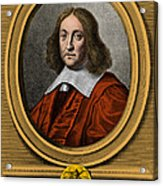Pierre De Fermat, French Mathematician Acrylic Print by Photo Researchers, Inc.