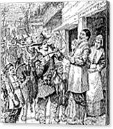 Pilgrims: Thanksgiving, 1621 Acrylic Print