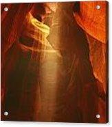 Pillars Of Light - Antelope Canyon Az Acrylic Print
