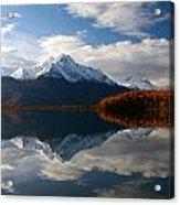 Pioneer Peak Acrylic Print