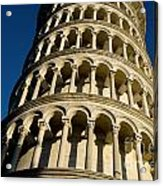 Pisa Tower Acrylic Print