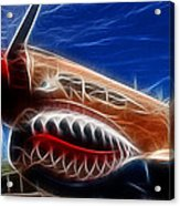 Plane Flying Tigers Acrylic Print