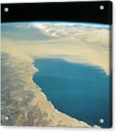 Planet Earth Viewed From Space Acrylic Print