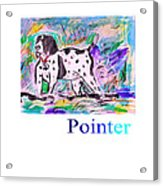 Pointer Acrylic Print