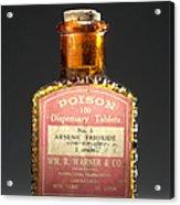 Poison, Circa 1900 Acrylic Print