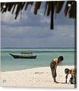 Pongwe Beach Hotel  Acrylic Print