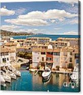 Port Grimaud 1 Acrylic Print by John James