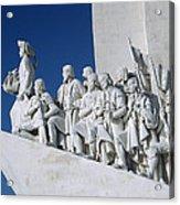 Portuguese Maritime Monument Acrylic Print