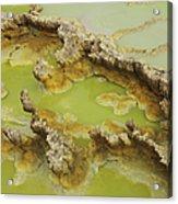 Potassium Salt Deposits, Dallol Acrylic Print