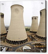 Power Station Cooling Towers Acrylic Print