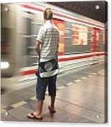 Prague Metro Acrylic Print