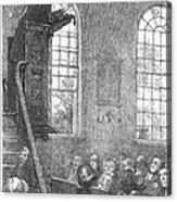 Preacher, 19th Century Acrylic Print