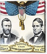 Presidential Campaign, 1868 Acrylic Print