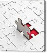 Puzzle Acrylic Print by Joana Kruse