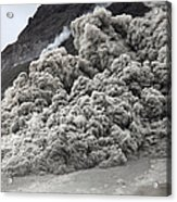 Pyroclastic Flow Descending The Flank Acrylic Print