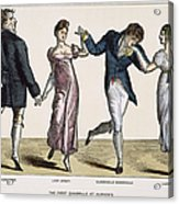 Quadrille, 1820 Acrylic Print