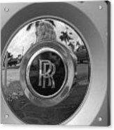 R R Wheel Acrylic Print