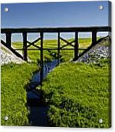 Railroad Trestle Acrylic Print