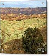 Rainbow Canyon Acrylic Print
