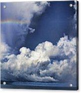 Rainbow Cloud V5 Acrylic Print