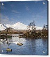 Rannoch Moor - Winter Acrylic Print